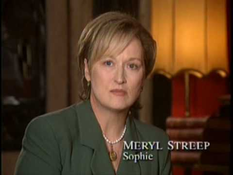 "Meryl Streep - Making of ""Sophie's Choice"" - Part 1 of 2"