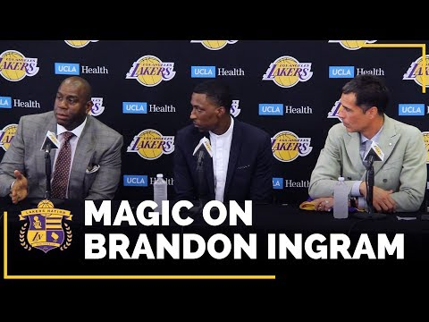 Video: Magic Johnson On What Brandon Ingram Did To Show Him He's A Leader