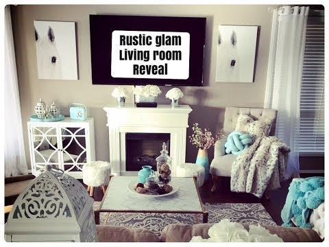 RUSTIC GLAM LIVING ROOM REVEAL