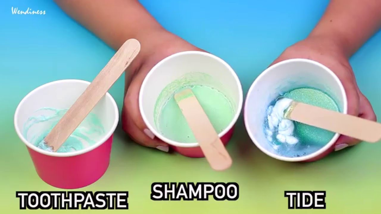 Without Borax By Wendiness · Slime Testcan You Really Make Diy Slime With  Toothpaste, Shampoo
