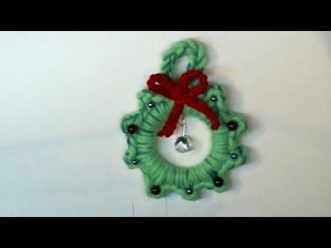 uncinetto tutorial: la ghirlanda natalizia