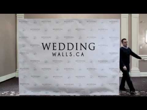 Wedding Wall - Red Carpet Step & Repeat Backdrop Rental ...