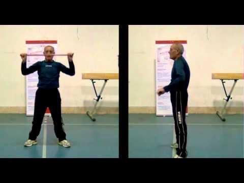 Lezione 2: Esercizi per la schiena e per l'articolazione della spalla