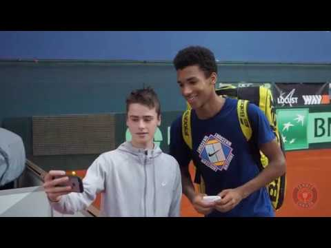 Félix Auger-Aliassime, Canada's No. 2, is looking forward to not only playing his first Davis Cup tie -- but playing it on clay! Given that he won three ATP ...