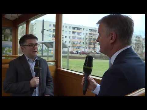 Straßenbahninterview mit Dr. Thomas Drews (Bürgschaftsb ...