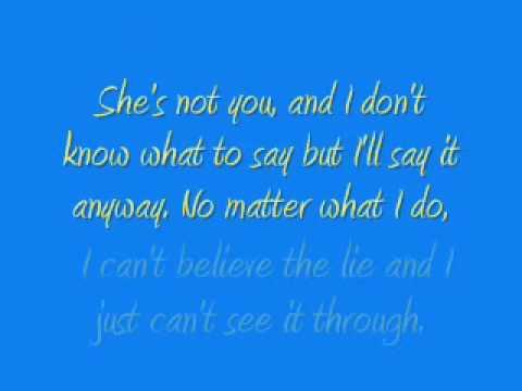 She's Not You - David Archuleta