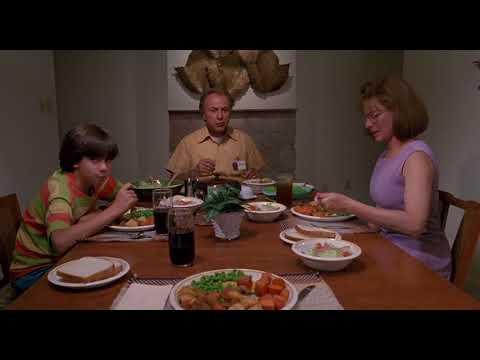 Edward Scissorhands - Dinning Scene