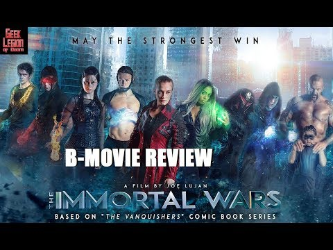 THE IMMORTAL WARS ( 2018 Eric Roberts ) Superhero B-Movie Review