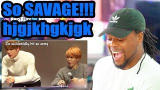 Video When BTS is so done with ARMY (So Savage WOW) | Reaction!!! MP3, 3GP, MP4, WEBM, AVI, FLV Januari 2019