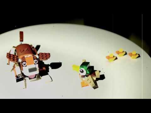 Bau im Zeitraffer - Lego Hund und Ente (von Benjamin Erhardt)