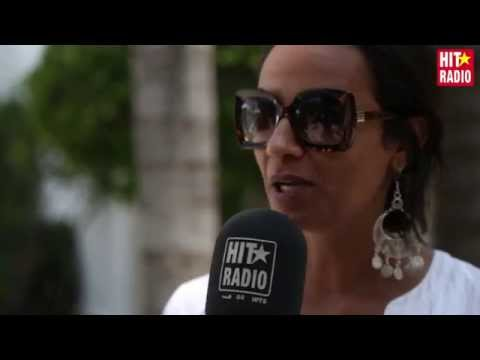 Interview avec OUM au Festival Mawazine 2015 sur HIT RADIO