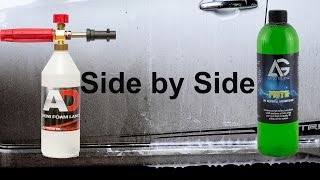 will it works?side by side Cleaning Power Test!Snow foam is a prewash foam, sprayed onto the car to lubricate and dissolve as much dirt as possible, to help keep the infliction of swirl marks, scratches and abrasions to a minimum. after this, you can sprayed the car again with water/pressure washer, and continue washing by hand.EBAY. comNilfisk C110 : https://goo.gl/LbQuyAAutobrite Foam Lance : https://goo.gl/2WTMiJAutoGlanz Piste : https://goo.gl/XcJE1B----------------------------------------------------------------------------------------EBAY UKNilfisk C110 : https://goo.gl/Y7cR1aAutobrite Foam Lance : https://goo.gl/4hLEUcAutoGlanz Piste : https://goo.gl/GEXJKI----------------------------------------------------------------------------------------AMAZON U.SNilfisk C110 : http://amzn.to/2cRD1HHother Foam Lance : http://amzn.to/2fI2W0v----------------------------------------------------------------------------------------AMAZON U.KNilfisk C110 : http://amzn.to/2cthFwcAutobrite foam lance : http://amzn.to/2eJNbFf----------------------------------------------------------------------------------------INDONESIAyg mau nitip beli produk dari autobrite atau ebayWhatsApp : +6281361330151----------------------------------------------------------------------------------------Snow Foam Tutorialhttps://www.youtube.com/playlist?list=PL0hmdwdvItIOP0JQZr0oLHwY-JtVfdcrcSnow Foam Shampoo Test Videohttps://www.youtube.com/playlist?list=PL0hmdwdvItIMpY1E_1574-m4msKlcRB3HCar Shampoo in snow foam lance testhttps://www.youtube.com/playlist?list=PL0hmdwdvItIMNJtwT8dHGRys_NSMjIPFpAuto Detailing Product Reviewhttps://www.youtube.com/playlist?list=PL0hmdwdvItINwDvIxPWpgYnAxj1qMSW-Q