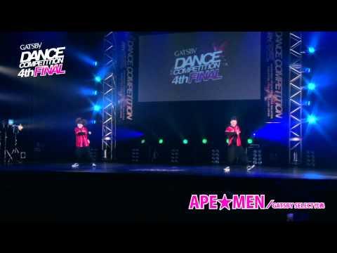 【GDC 4th】GATSBY DANCEnJAPAN FINAL/APE★MEN