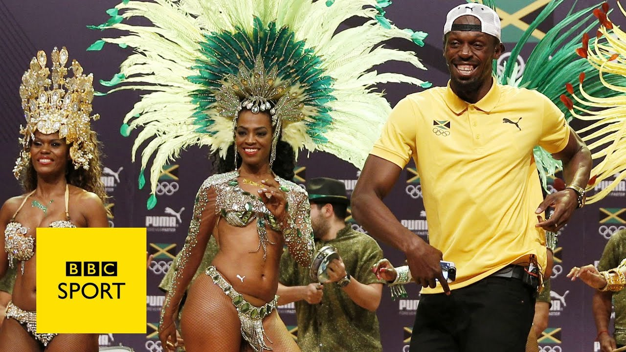 Usain Bolt's crazy press conference – Olympic Games Rio 2016 – BBC Sport