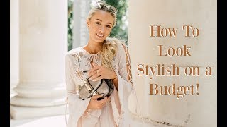 HOW TO STAY STYLISH ON A BUDGET - Here I share with you my top tips on how to be a savvy but fashionable shopper whilst on a budget and Student Budgeting Tips; from my own experiences whilst studying at the London College of Fashion. Subscribe so you don't miss any videos :) http://bit.ly/1zG3soBThis video is in collaboration with NatWest, you can visit their website here to find out more info about their Student Account and how to sign up for one, if you too want to stay stylish and save money: http://bit.ly/2t5gJoe ________________________________________­___________________ ❤ Featured in this Video ❤YSL Purse - http://bit.ly/2iB2gPx ________________________________________­___________________ ❤ What I Wore ❤Pink blouse - http://bit.ly/2sHKegpPlissé Culottes - http://bit.ly/2qswowNEarrings : http://bit.ly/2ssynTHNecklace : http://bit.ly/2mx7AVuRing : http://bit.ly/2i7GCSCBracelet : http://bit.ly/2 ________________________________________­___________________ WHERE ELSE TO FIND ME!❤ Blog // http://www.fashionmumblr.com❤ Instagram // https://instagram.com/josieldn/❤ Twitter // https://twitter.com/FashionMumblr❤ Bloglovin // http://bit.ly/1QgW457❤ Facebook // https://www.facebook.com/fashionmumblr❤ Snapchat // JosieLDN________________________________________­___________________ ❤ Get in touch with me here: http://bit.ly/1QCe5xe❤ Filming & Photography Information : http://bit.ly/1K3yPxa❤ How I get my hair colour with L'Oreal Professional :http://bit.ly/2rp5VBI ________________________________________­___________________ ❤  In the Background:Pink Rug : http://bit.ly/2pW9mP7Mirror : http://bit.ly/2qsV7ky________________________________________­___________________ Popular Blog Posts:❤ FAQs ft How to Start a Blog : http://bit.ly/2eowZPH❤ Life as a full time blogger / YouTuber : goo.gl/Y1ceLq❤ Why Every Twenty-Something should Practise Mindfulness : http://bit.ly/2eLr6I6________________________________________­___________________NB : The links above are likely to be affiliate links, which means if I have inspired you to make a purchase and you choose to buy something through one of these links, I may receive a small commission on the sale, as a way of thanks! It makes no difference to you as a buyer at all but I may receive a small compensation from the brand via rewardStyle. If you'd like to find out more, you may like to read this post : http://bit.ly/2rjaGPU xoxo
