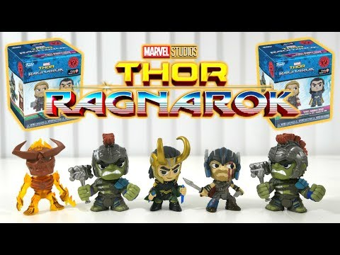 Thor Ragnarock Surprise Mystery Minis! Lets Open Together!