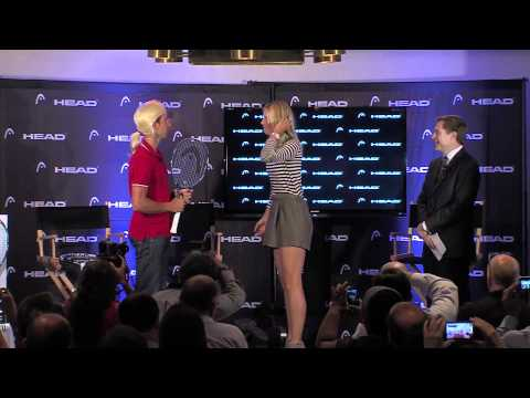 Aimaq - For the launch of the new HEAD Instinct racquet we started a verbal exchange -- and won over a lot of tennis fans. The players: Maria Sharapova and Maria Sha...