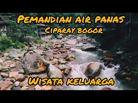 pemandian air panas ciparay bogor | wisata alam | wisata keluarga #explorebogor