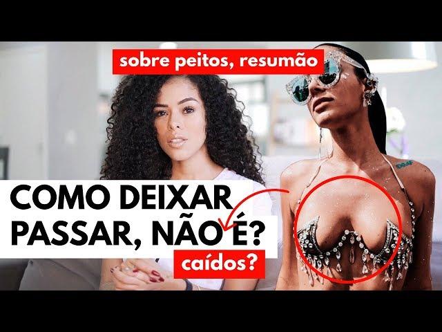 VAMOS FALAR SOBRE PEITOS, INCLUSIVE OS DA BRUNA... | RAYZA NICÁCIO - Rayza Nicácio