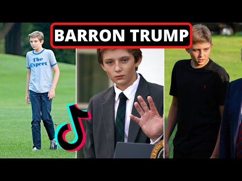 Barron Trump TikTok Compilation (SAVE BARRON TRUMP)