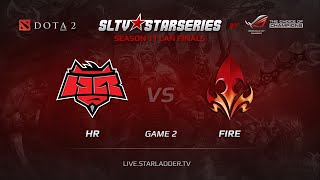 Fire vs HR, game 2