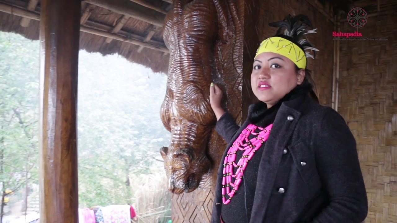 An Interview about the Wood Carvings at the Garo Morung