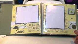 a quick and easy, but still beautiful scrapbook album. This album takes about 3 hours to get done. It's quick easy and still very beautiful!  I hope to have an instruction sheet up in the next few days showing how to make the best use of your sheets of paper. Enjoy!!