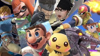 Super Smash Bros Ultimate: All 68 Characters (Gameplay Showcase)