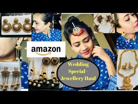 ONLINE WEDDING SPECIAL GOLD JEWELLERY - AMAZON😍