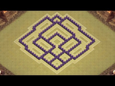 Town hall 7 defense coc th7 best war base layout defense strategy