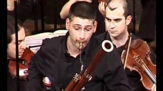 Live concert in the wonderful Teatro Olimpico of Andrea Palladio in Vicenza, Italy Aligi Voltan: bassoon G.B.Rigon: Conductor...