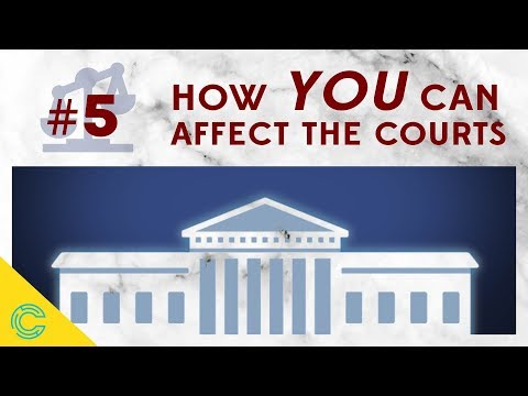 The US Federal Court System: How YOU Can Affect the Courts