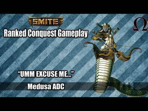 SMITE: Ranked Conquest- Medusa ADC