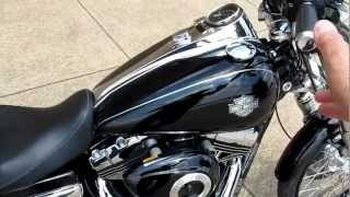 9. 2012 Harley-Davidson Dyna Wideglide, Dark series bike, 103 motor, six speed, for sale in Texas