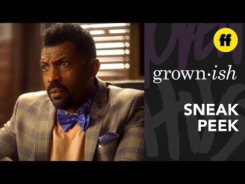 grown-ish Season 2, Episode 19 | Sneak Peek: Aaron Asks Dean Telfy For More Resources | Freeform