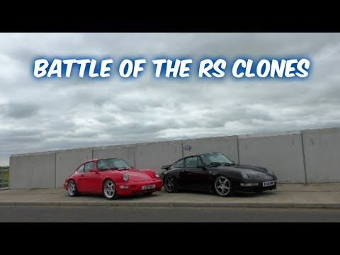 Porsche 964 RS VS Porsche 993 RS - Battle Of The Clones