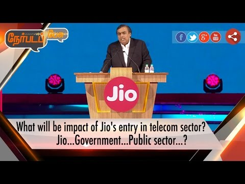 Nerpada-Pesu-What-will-be-impact-of-Jios-entry-in-telecom-sector-10-09-16-Puthiyathalaimurai