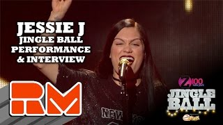 See more performances/interviews from Z100's Jingle Ball at: http://www.realmagictv.comThis quick glimpse of Z100's Jingle Ball spotlights Jessie J on stage and behind the scenes at Madison Square Garden.Real Magic TV has all of the high-definition interviews and performances from New York City's hottest concert of the year: Z100's Jingle Ball 2014. Go backstage and in the front row at Madison Square Garden, featuring appearances and performances from Maroon 5, Ariana Grande, Sam Smith, Iggy Azalea, Pharrell, 5 Seconds of Summer, Calvin Harris, Taylor Swift, OneRepublic, Jessie J, Meghan Trainor, Charli XCX, Shawn Mendes, Rita Ora, Rixton, Nick Jonas, Sarah Jessica Parker, Emma Roberts, Elvis Duran, and Ryan Seacrest at this year's mega event.You can interact with all of the artists by submitting questions for them for future Real magic TV tapings. Check out the individual artist profile pages on the official Real Magic TV site.
