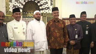 Video SILATURAHMI GANJAR KUNJUNGI KEDIAMAN HABIB SYECH MP3, 3GP, MP4, WEBM, AVI, FLV September 2018