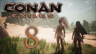 Conan Exiles — прохождение игры на русском — Легкие доспехи! [#8] | PC