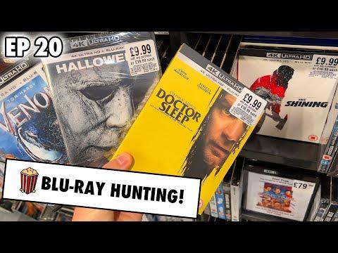Blu-ray Hunting - UPDATED £10 HMV 4K DEALS!!   EP 20
