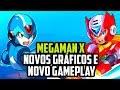 Novos Gr ficos E Novo Modo De Jogo Em Megaman X