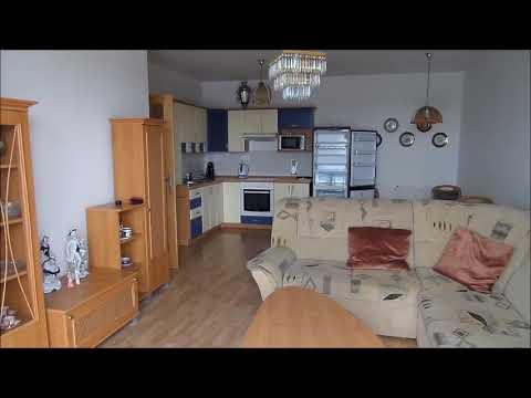 Video Prodej zděného, vybaveného bytu 3+kk, Mladé, České Budějovice, terasa, 2. patro