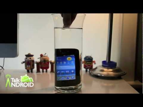 rugby smart drop test - We test the Samsung Rugby Smart under water... For all the latest Android news visit http://www.talkandroid.com Follow us on Twitter, Google+, and Facebook: ...