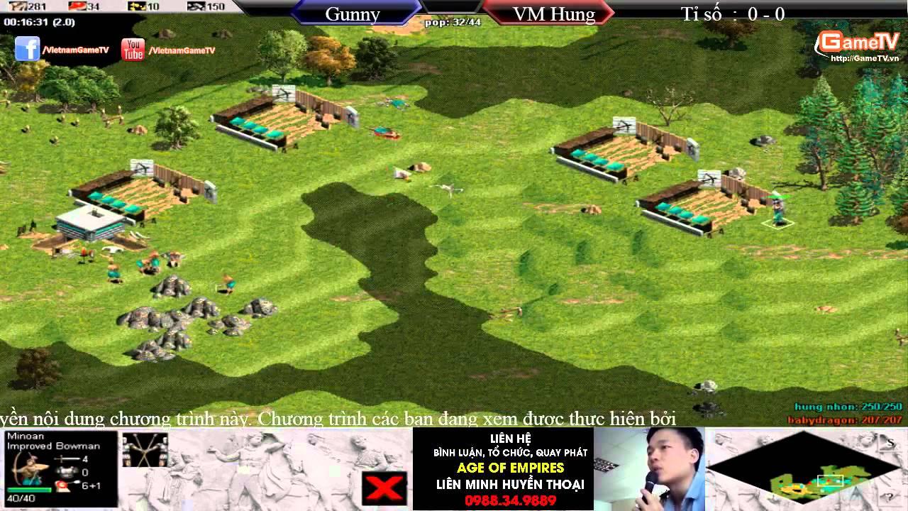 ACT2015 - Week 1 - Chung Kết   Gunny vs Vũ Minh Hùng