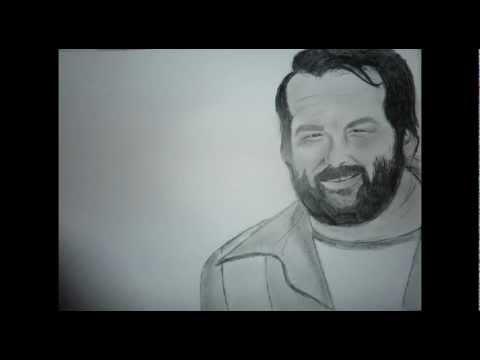 BudSpencer:Portrait zeichnen