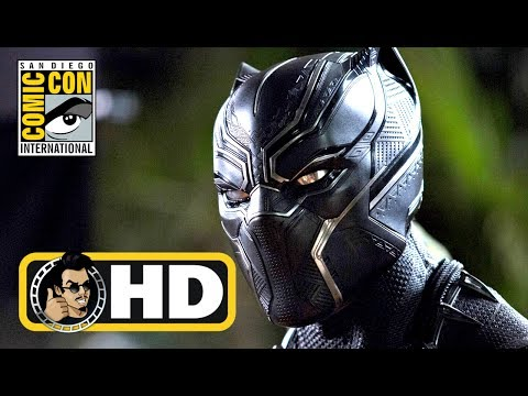 BLACK PANTHER Footage Reaction (Hall H Panel) - #SDCC 2017