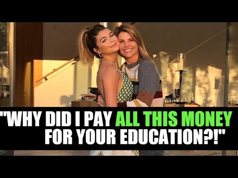 Lori Loughlin Jokes About Paying 'ALL THIS MONEY' For Olivia Jade's Education