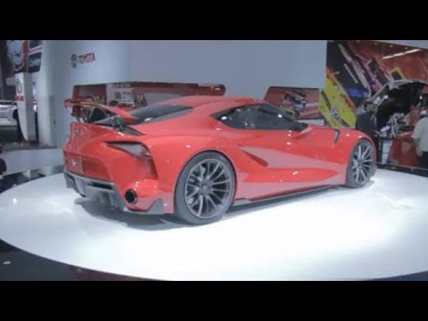 Toyota FT-1 Concept Walkaround With William Chergosky