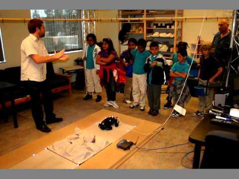 Robotisches offenes Haus an der USC